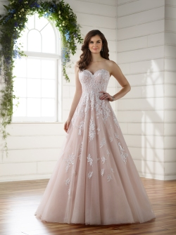 D2218 by Essense of Australia Available at Premier Bride's Perfect Dress