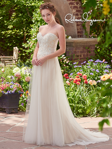 Chelsea by Rebecca Ingram Available at Premier Bride's Perfect Dress