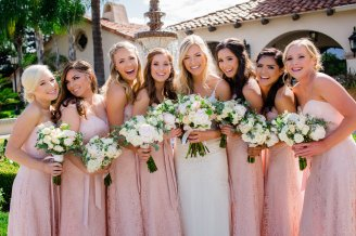 Photographer: Emily + Steven Photography Venue & Caterer: Copper River Country Club Cake: Frosted Cakery Gown: Premier Bride's Perfect Dress Rentals: Covered with Elegance Florist: Flowers by Leticia Boyle DJ/Music: DJ Lunatiko Tuxedos: Fresno Suit Outlet Transportation: No Limit Limousine Coordinator: Designs by Marie Costa Photo Booth: Smiley Photo Booth