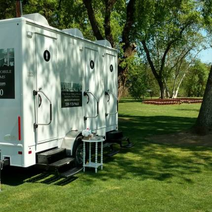 The Oval Office Mobile Luxury Restrooms